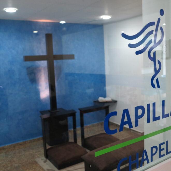 capilla hospitalaria